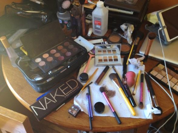 Makeup by Kim Porter Bride Trial setup