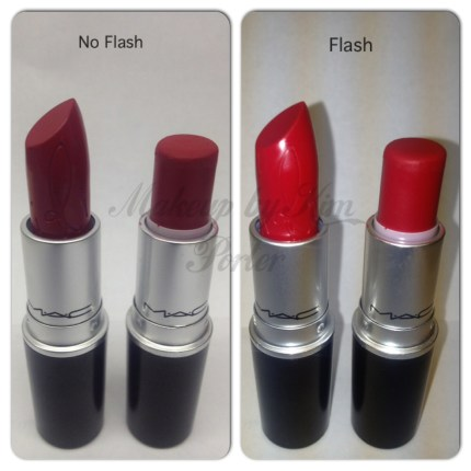 MAC riri woo and ruby woo