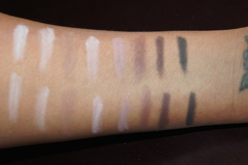 Matte Shades Top Row with Flash