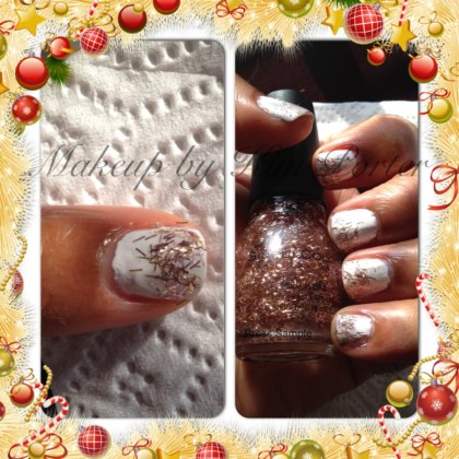 SinfulColors Holiday Tinsel Gold Tinsel