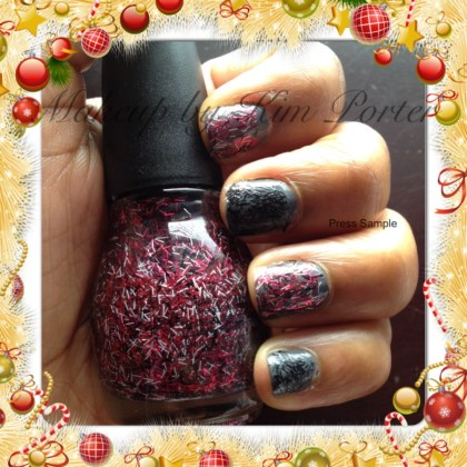 SinfulColors Holiday Tinsel Pink Icicles