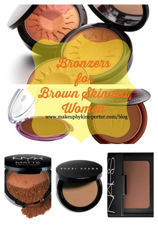 Bronzers for brown Skinned women