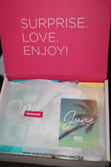 June 2014 POPSUGAR MUST HAVE Box