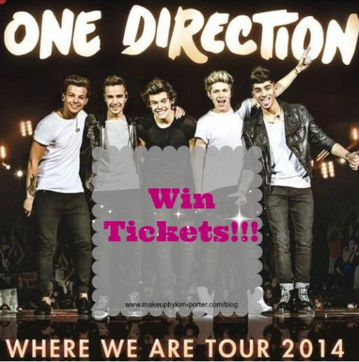 One Direction Where We Are Tour Ticket Giveaway
