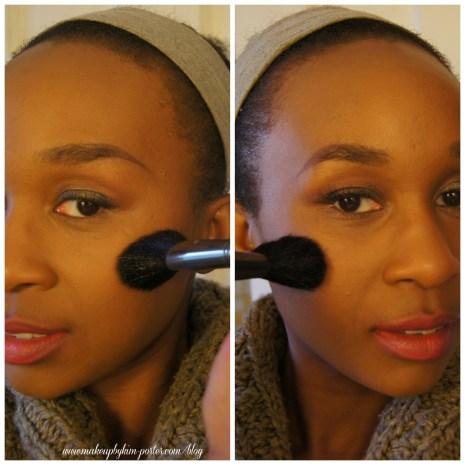 MUA Makeup Academy Contour Blush Brush