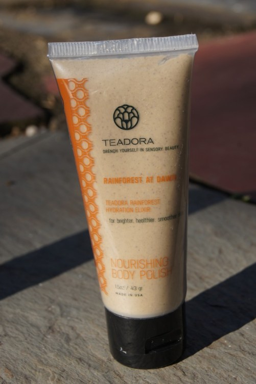 Teadora Nourishing Body Polish Rainforest at Dawn