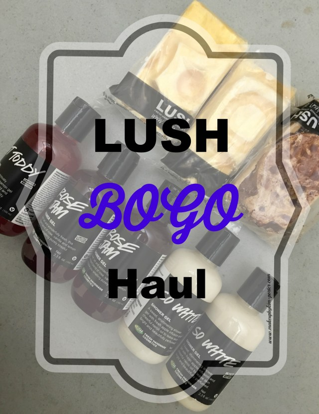 LUSH Buy One Get One Sale