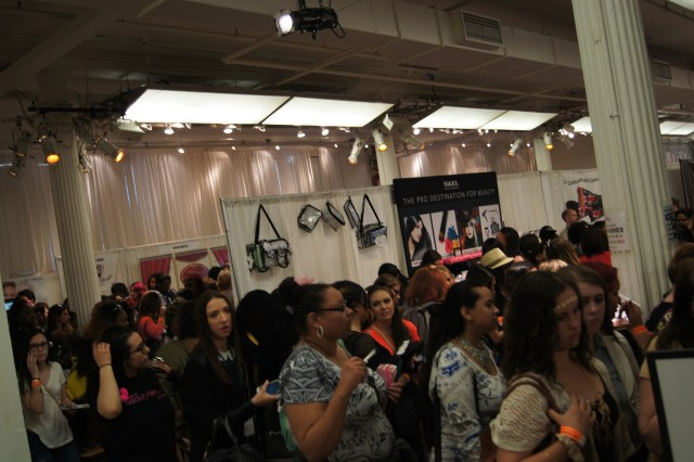 The Makeup Show New York Crowds