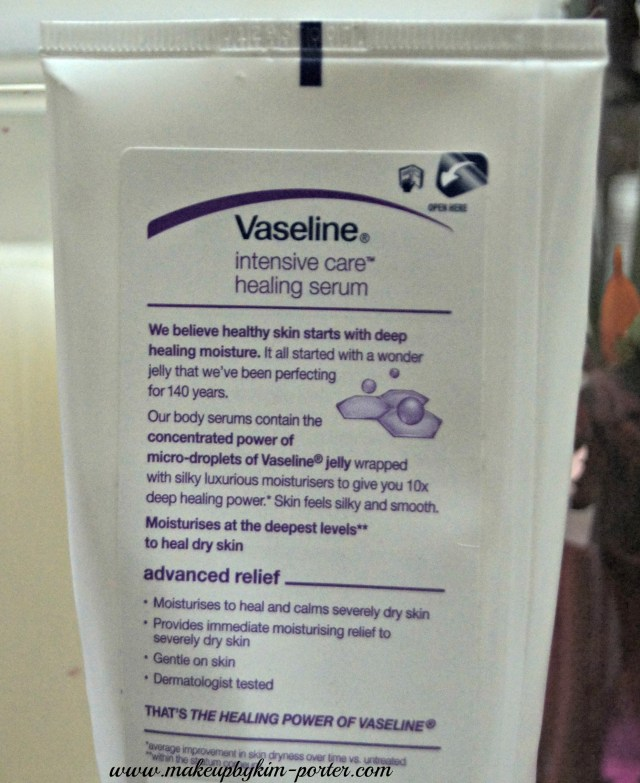 Vaseline Intensive Care Advance Relief Healing Serum