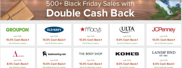 Ebates Black Friday
