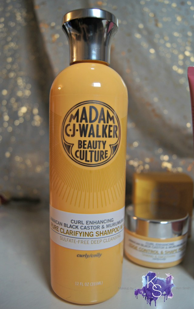 Madam C.J. Walker Beauty Culture Jamaican Black Castor & Murumuru Oil Pure Clarifying Shampoo with ACV