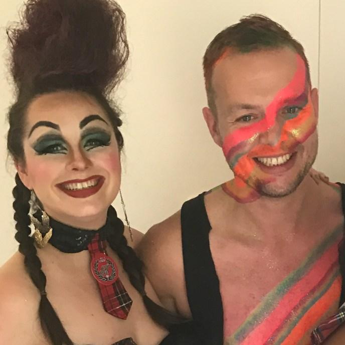 Sydney makeup artist, SFX makeup, Sydney body painter, Mardi Gras makeup, Sydney Mardi Gras makeup, Sydney facepainter