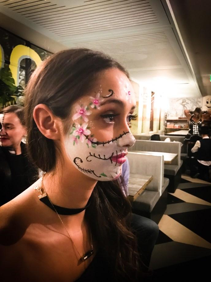 Sydney makeup artist, Sydney body painter, Halloween makeup, Sydney halloween makeup, Sydney facepainter