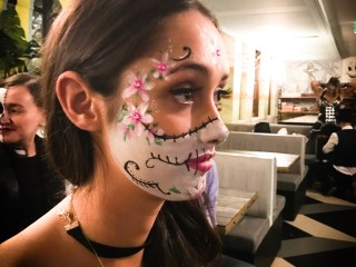 Sydney makeup artist, Sydney body painter, Halloween makeup, Sydney halloween makeup, Sydney facepainter
