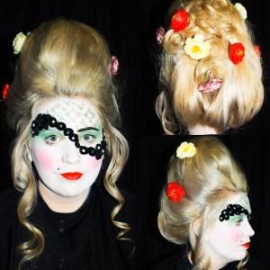 Avant garde makeup SFX makeup Special Effects