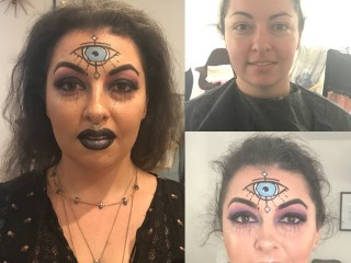 Sydney makeup artist, SFX makeup, Sydney body painter, Halloween makeup, Sydney halloween makeup, Sydney facepainter