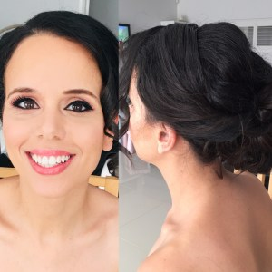 Beautiful bride - hair and makeup