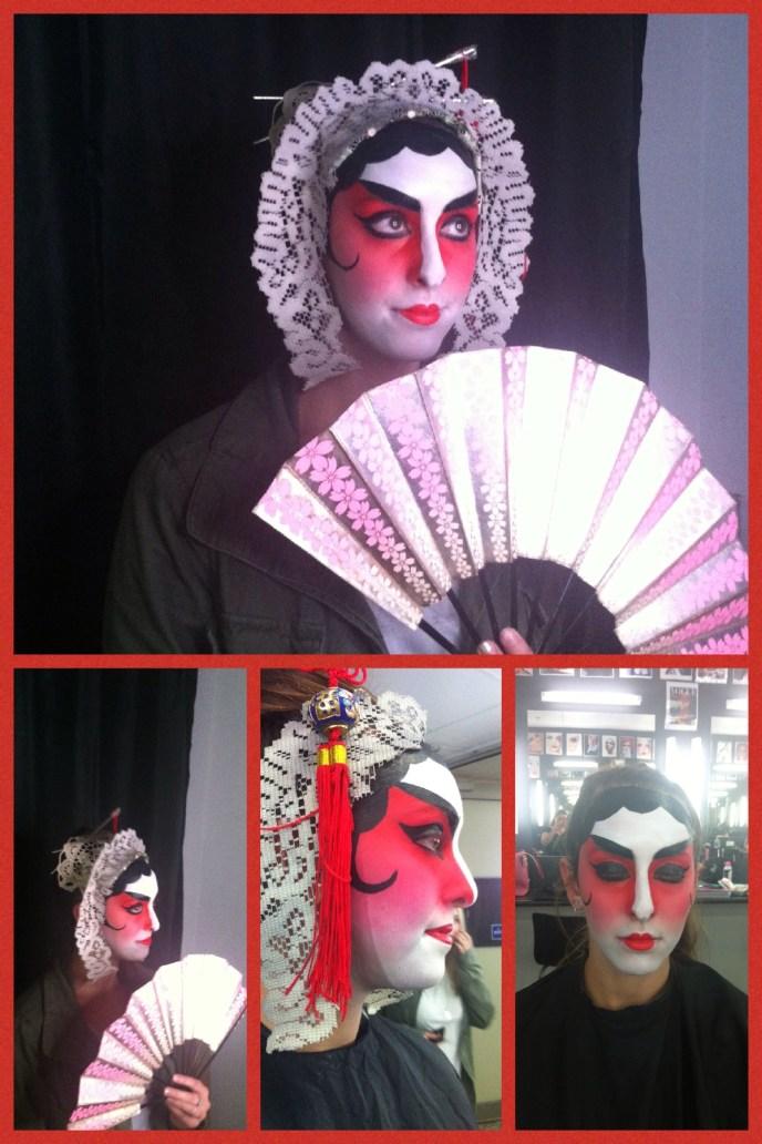 Sydney makeup artist, SFX makeup, Chinese Opera makeup, Sydney facepainter