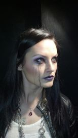 Crying makeup for Batgirl: Spoiled Model: Jennifer Wenger, Makeup: Dawnielle Banks/Make Up By Siryn, Photo: Dawnielle Banks