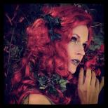 Poison Ivy makeup for Batgirl: Spoiled Model: Meghan Ashley, Makeup: Dawnielle Banks/Make Up By Siryn, Photo: Unknown