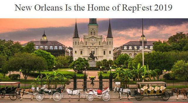 Avon RepFest 2019 will be in New Orleans