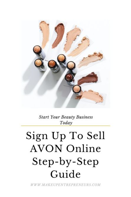 Sign up To Sell Avon Online Step by Step Guide