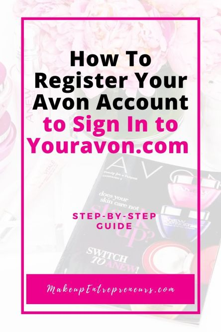 How to Register Your Avon Account to Sign In to youravon.com website
