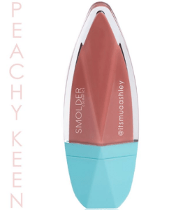 Smolder Cosmetics Ashley Rosales Liquid Matte Lipstick Peachykeen