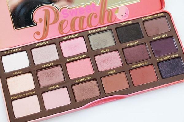 sweet peach palette # 19