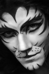 Leopard Makeup on Halloween