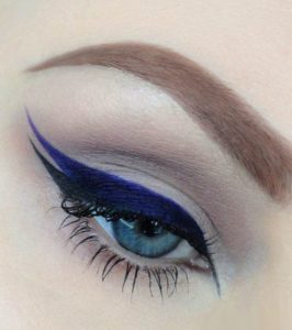 Double Eye Makeup Arrow