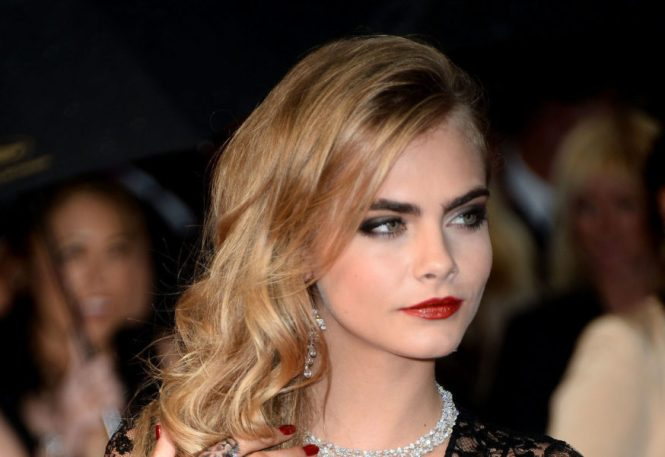 Cara Delevingne At The Cannes Film Festival Makeup Madeover