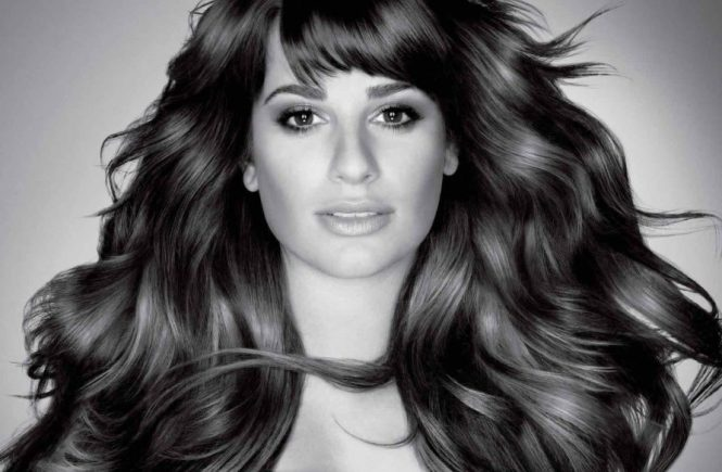 Lea Michele Hair Extensions L'Oreal