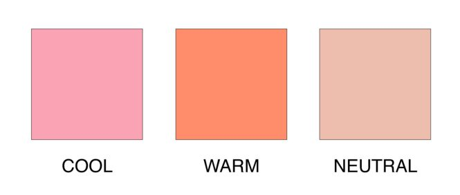 Undertones Explained Warm, Cool and Neutral
