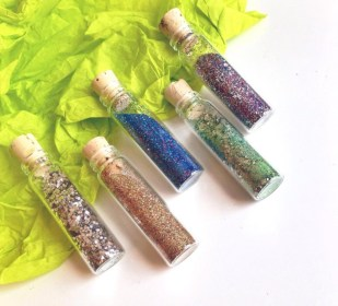 Bioglitz glitter friendly to the environment and ocean