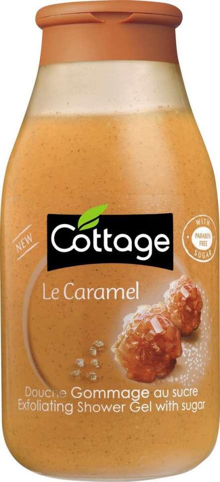 Cottage Гель для душа Отшелушивающий Сладкая Карамель 270 ...