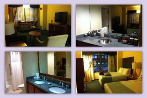 Doubletree in Times Square! Our suite was awesome!