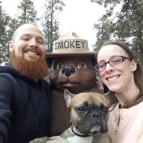 Who can resist Smokey the Bear?