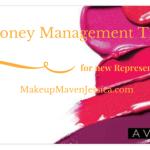 Money Management Tips for New Avon Representatives