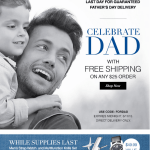 Father's Day Free Shipping