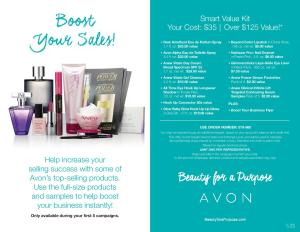 Avon Smart Value Kit 2015