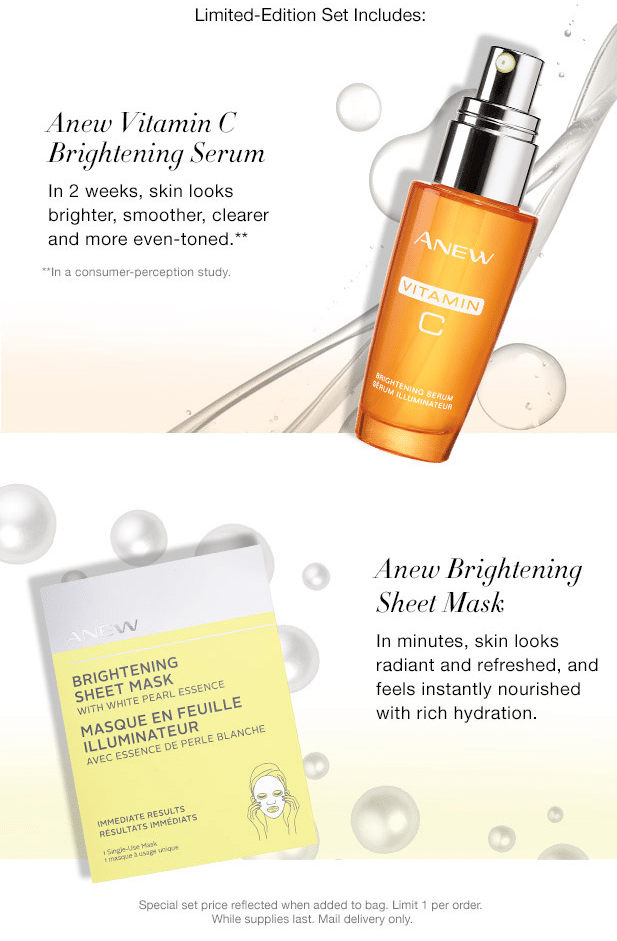 Limited Edition Anew Brightening Set