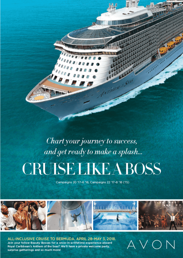Cruise Like a Boss - How To Earn a Cruise With New Avon
