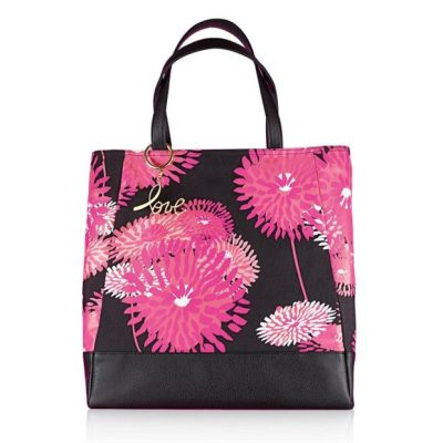 Pink Hope Oversized Floral Totebag
