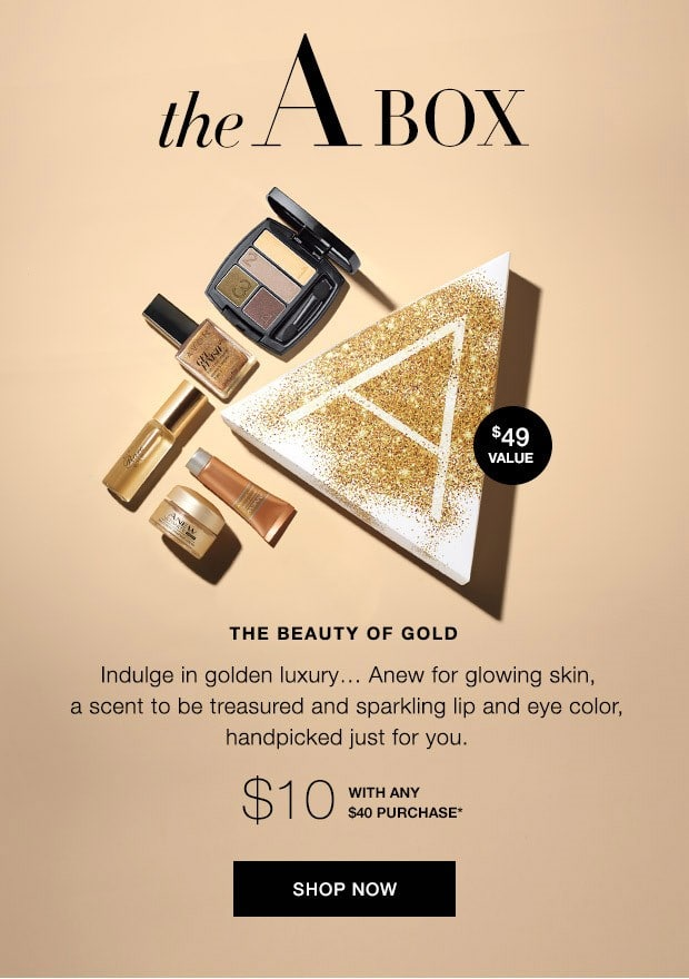 A Box Gold Collection - Avon