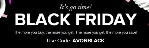 Black Friday Shopping with Avon – Holiday Deals