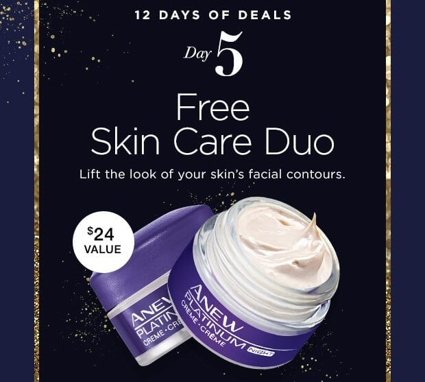 Avon 12 Days of Deals – Day 5 – Free Skin Care Duo