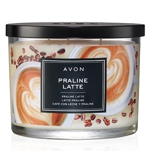 Praline Latte Scented Candle - Campaign 1, 2018