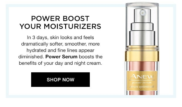Anew You - Avon Power Serum