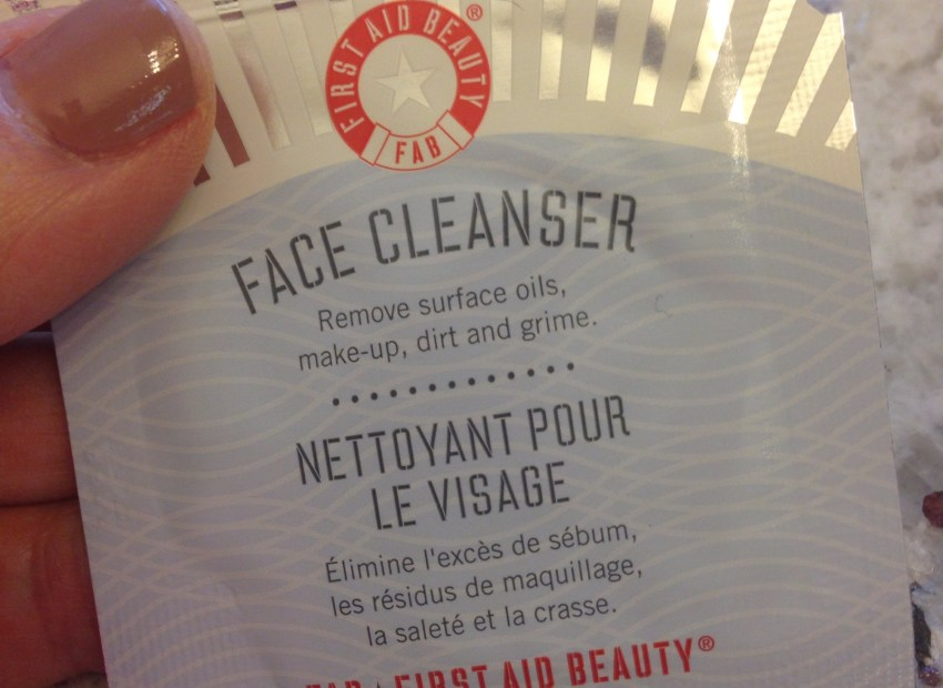 First Aid Beauty Face Cleanser review